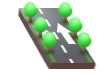 Two-lane One-way Road with Trees.png