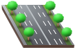 Six-lane Road with Trees.png