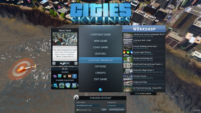 skylines list mods of subscribed download cities