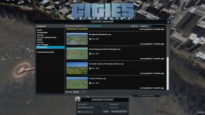 cities skylines download list of subscribed mods
